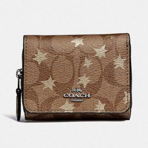 Coach wallet in signature canvas psp